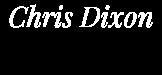 Chris Dixon Jungian Psychotherapy Logo