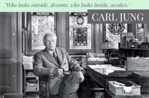 """Who looks outside, dreams; who looks inside, awakes."""